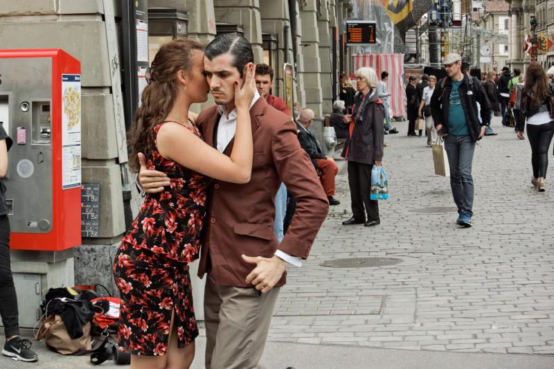 Aldana und Fernando, Bärenplatz Bern