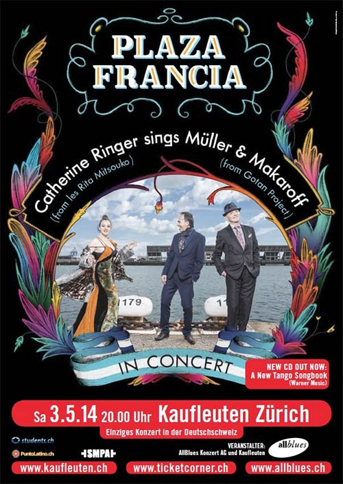 Flyer Plaza Francia