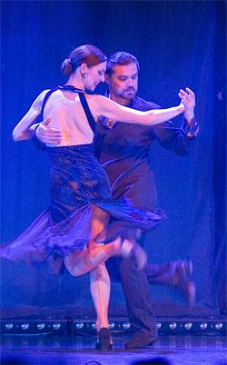 Bühnenfoto Nicole Nau, Luis Pereyra