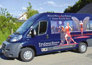 Bild Tourbus, Quelle: Buch tanze Tango mit dem Leben